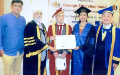 Nagpur's Dr Kavita Chandak conferred with Honorary Doctorate in Thailand